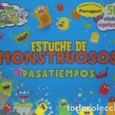 Libros: ESTUCHE DE MONSTRUOSOS PASATIEMPOS PARRAGON BOOKS. Lote 71002177