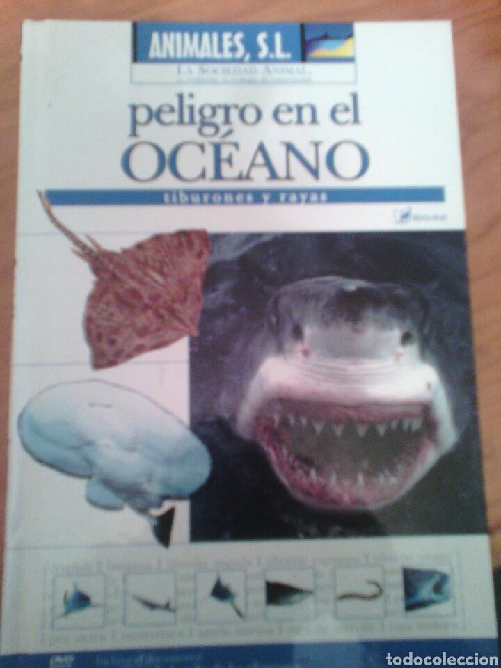 ANIMALES S.L. PELIGRO EN EL OCÉANO TIBURONES Y RAYAS (Libros Nuevos - Ocio - Otros)