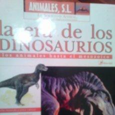 Libros: ANIMALES S.L. LA ERA DE LOS DINOSAURIOS. Lote 81210532