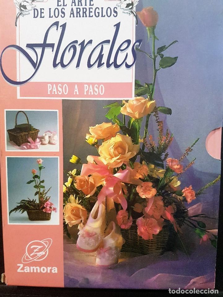 Libros: EL ARTE DE LOS ARREGLOS FLORALES PASO A PASO,3 VOLUMENES OBRA COMPLETA,EN ESTUCHE - Foto 2 - 84251088
