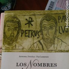 Libros: EL LIBRO DE LOS NOMBRES. Lote 91102167