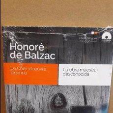Libros: AUDIOBOOKS / LIBROS BILINGÜES / ESPAÑOL-FRANCÉS. HONORÉ DE BALZAC / PRECINTADO.. Lote 94438786