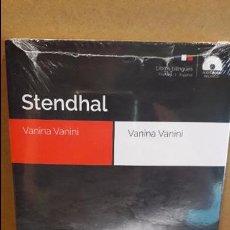 Libros: AUDIOBOOKS / LIBROS BILINGÜES / ESPAÑOL-FRANCÉS. STENDHAL / PRECINTADO.. Lote 94439018