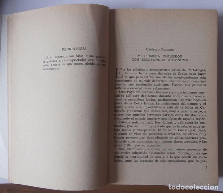 Libros: LA LLAMADA DE LAS PROFUNDIDADES . EDUARDO ADMENTLLA. 1961 CAMPEÓN DE INMERSIÓN - Foto 4 - 95450463