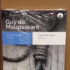 Libros: AUDIOBOOKS / LIBROS BILINGÜES / ESPAÑOL-FRANCÉS. GUY DE MAUPASSANT / PRECINTADO.. Lote 97713315