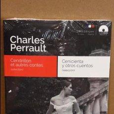 Libros: AUDIOBOOKS / LIBROS BILINGÜES / FRANCES / ESPAÑOL / CHARLES PERRAULT / PRECINTADO.. Lote 121546792