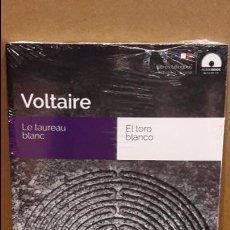 Libros: AUDIOBOOKS / LIBROS BILINGÜES / FRANCÉS-ESPAÑOL / VOLTAIRE / PRECINTADO.. Lote 97714103