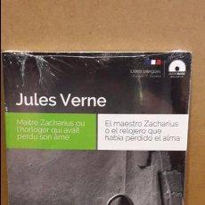 Libros: AUDIOBOOKS / LIBROS BILINGÜES / FRANCÉS-ESPAÑOL. JULES VERNE / PRECINTADO.. Lote 97714315