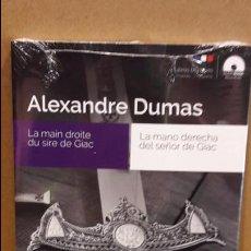 Libros: AUDIOBOOKS / LIBROS BILINGÜES / FRANCÉS-ESPAÑOL. ALEXANDRE DUMAS / PRECINTADO.. Lote 99412651