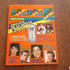 Libros: AGENDA SUPER POP AÑO 1989. Lote 98128819