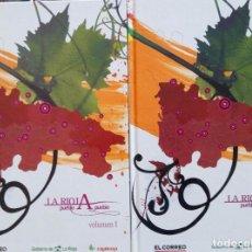 Libros: LIBRO DOS DE -LA RIOJA PUEBLO A PUEBLO-. Lote 98725755