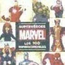 Libros: SUPERHÉROES MARVEL: LOS 100 IMPRESCINDIBLES LIBROS DISNEY. Lote 98815372