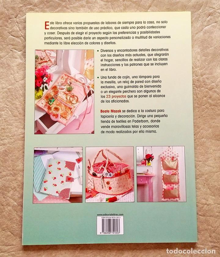Libros: Libro manualidades costura y decoración decorar casa a estrenar ed drac - Foto 3 - 101286643
