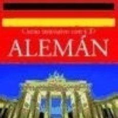 Libros: ALEMÁN. CURSO INTENSIVO CON CD NGV. Lote 103766130