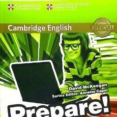 Libros: PREPARE! 6, WORKBOOK WITH ONLINE AUDIO CAMBRIDGE UNIVERSITY PRESS (ESPAÑA). Lote 104281967