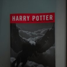 Libros: HARRY POTTER. Lote 116531038