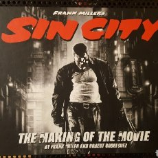 Libros: LIBRO - SIN CITY MAKING OF THE MOVIE - DARK HORSE COMICS - EN INGLES. Lote 117637972