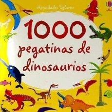 Libros: 1000 PEGATINAS DINOSAURIO. Lote 118356955