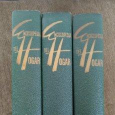 Libros: ENCICLOPEDIA DEL HOGAR GARRIGA. Lote 122278023