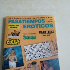Libros: PASATIEMPOS EROTICO. Lote 126379331