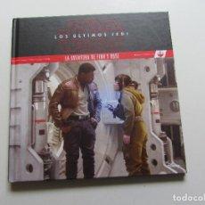 Livros: STAR WARS. LOS ÚLTIMOS JEDI. LA AVENTURA DE FINN Y ROSE PLANETA JUNIOR CS133. Lote 126720387