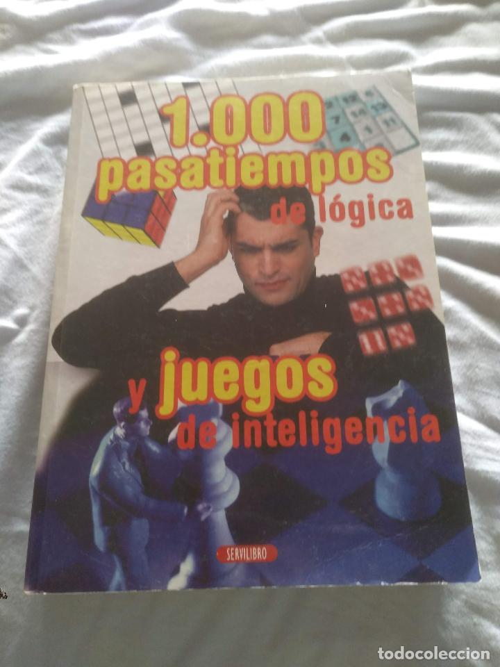1000 PASATIEMPOS Y JUEGOS DE LÓGICA (Libros Nuevos - Ocio - Otros)