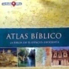 Libros: ATLAS BIBLICO. Lote 113072966