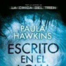 Libros: ESCRITO EN EL AGUA. Lote 126661460