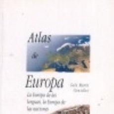 Libros: ATLAS DE EUROPA. Lote 100184394