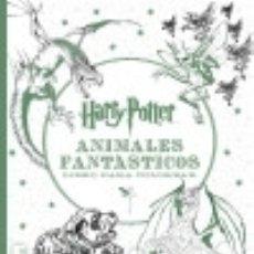 Libros: HARRY POTTER-ANIMALES FANTÁSTICOS LIBRO PARA COLOREAR MAGAZZINI SALANI. Lote 75225157