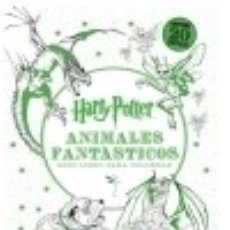 Libros: HARRY POTTER. ANIMALES FANTÁSTICOS Y DÓNDE ENCONTRARLOS: MINI LIBRO PARA COLOREAR. Lote 67896162