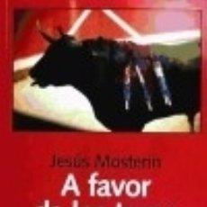 Libros: A FAVOR DE LOS TOROS LAETOLI EDITORIAL. Lote 77346714