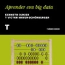 Libros: APRENDER CON BIG DATA. Lote 117709102