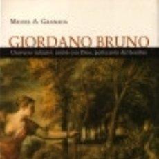 Libros: GIORDANO BRUNO HERDER EDITORIAL. Lote 70895087