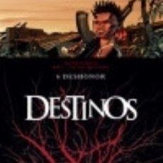 Libros: DESTINOS 06: DESHONOR EDICIONES GLENAT ESPAÑA, S.L.. Lote 101683194