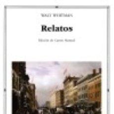 Libros: RELATOS. Lote 113076311