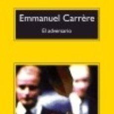 Livros: EL ADVERSARIO. Lote 70852871
