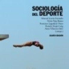 Libros: SOCIOLOGÍA DEL DEPORTE. Lote 76415982