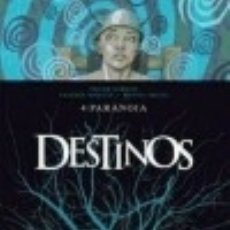 Libros: DESTINOS 04: PARANOIA EDICIONES GLENAT ESPAÑA, S.L.. Lote 101683202