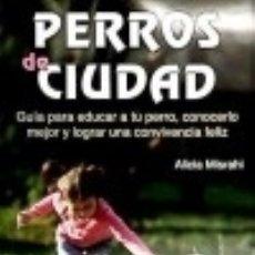 Libros: PERROS DE CIUDAD. Lote 120889814