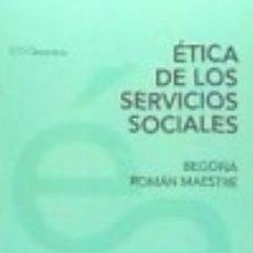 Livres: ÉTICA DE LOS SERVICIOS SOCIALES HERDER EDITORIAL. Lote 92157940