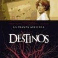 Libros: DESTINOS 03: LA TRAMPA AFRICANA EDICIONES GLENAT ESPAÑA, S.L.. Lote 101683204