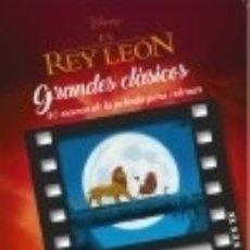 Libros: GRANDES CLÁSICOS DISNEY PARA COLOREAR-EL REY LEÓN. Lote 112518408