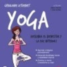 Libros: YOGA. Lote 86782040