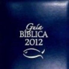 Libros: GUIA BIBLICA. 2012 EDITORIAL VERBO DIVINO. Lote 70601909