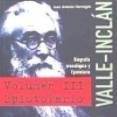 Libri: EPISTOLARIO DE VALLE-INCLÁN ASOCIACIÓN DE DIRECTORES DE ESCENA. Lote 70639171