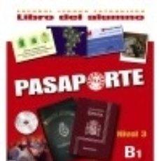 Libros: PASAPORTE ELE B1. LIBRO DEL ALUMNO + CD AUDIO. Lote 70767055