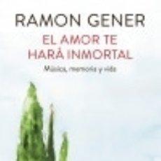 Livres: EL AMOR TE HARÁ INMORTAL PLAZA & JANES. Lote 70985421