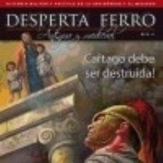 Livros: REVISTA DESPERTA FERRO. ANTIGUA Y MEDIEVAL, Nº 31 , AÑO 2015. ¡CARTAGO DEBE SER DESTRUIDA! DESPERTA . Lote 71015314