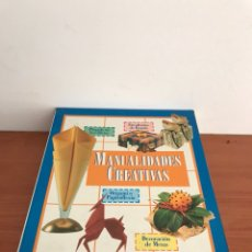 Libros: LIBRO DE MANUALIDADES CREATIVAS INGENIOSAS IDEAS PARA DECORAR TU HOGAR. Lote 128033647